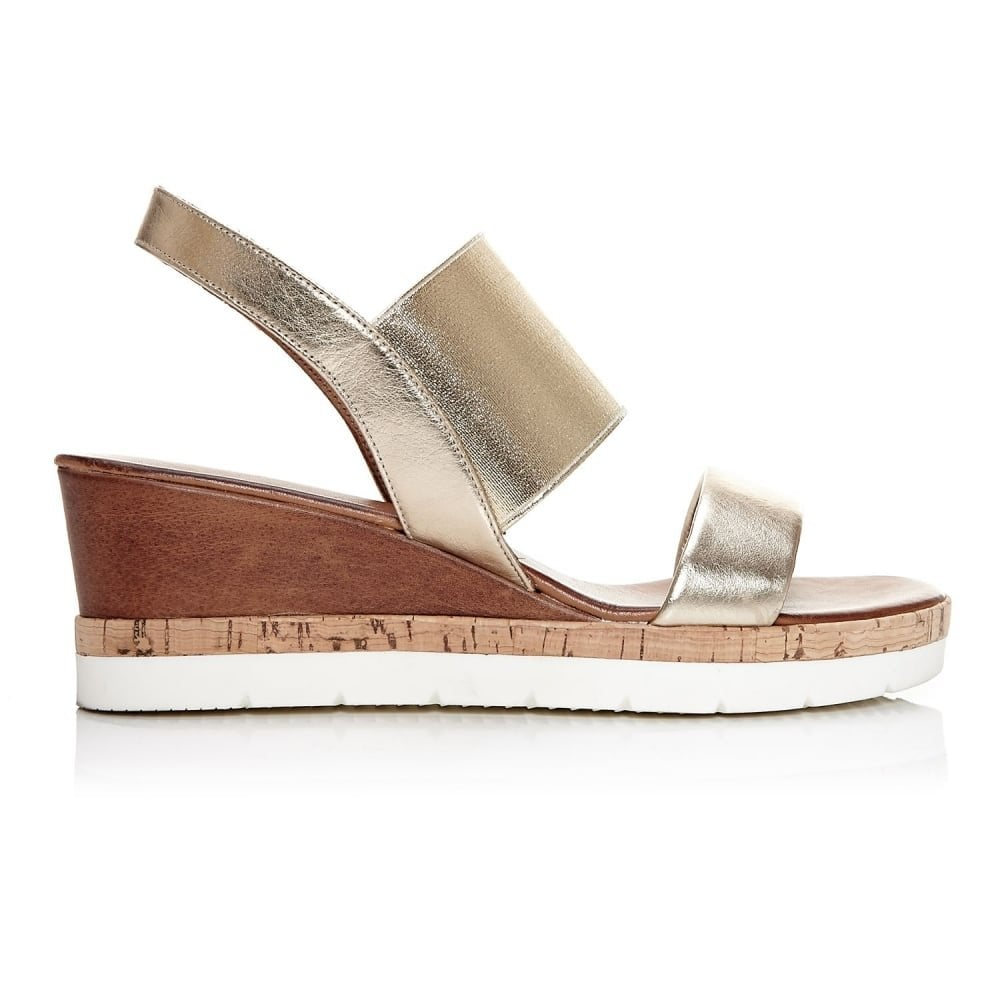 Pelle Niah Gold In Sandals Moda D2IHYW9E