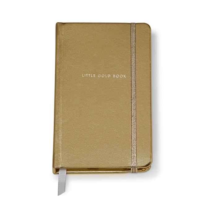 KATE SPADE Notebook (Medium) Gold (Little Gold Book)