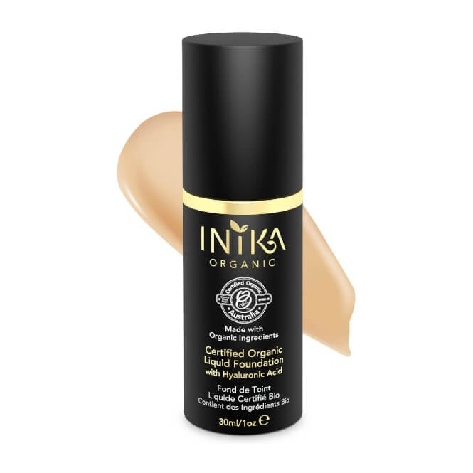 INIKA Organic Honey Liquid Foundation in Bottle