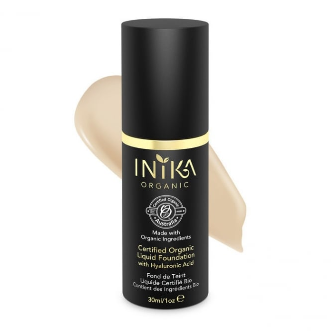 INIKA Organic Liquid Foundation Nude