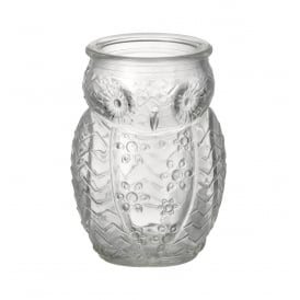 OWL CLEAR SHOT GLASS