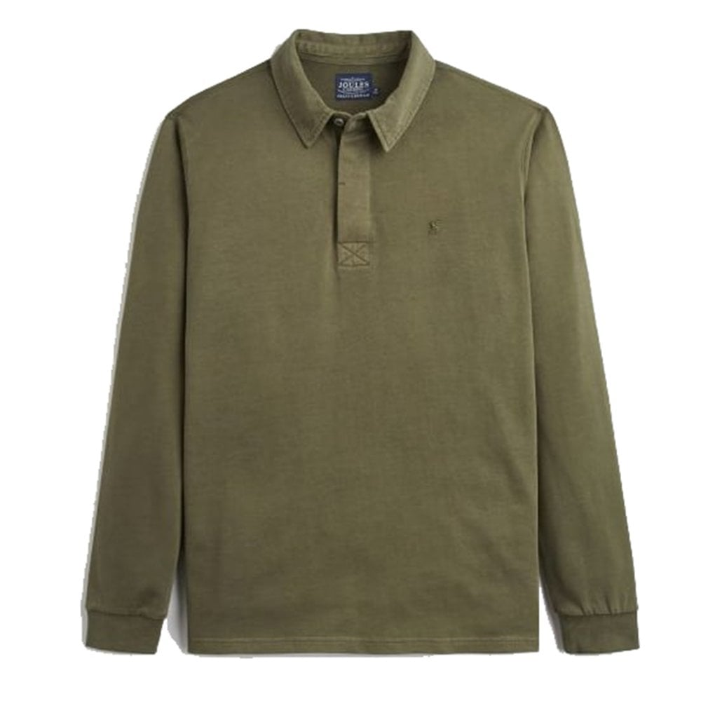 378b0549b33 JOULES PARKSIDE rugby shirt dark olive