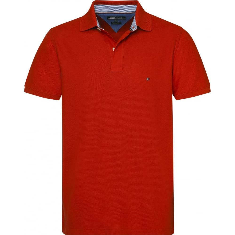 bd1538004e3676 TOMMY HILFIGER PERFORMANCE POLO SHORT SLEEVE T-SHIRT - Mens from ...