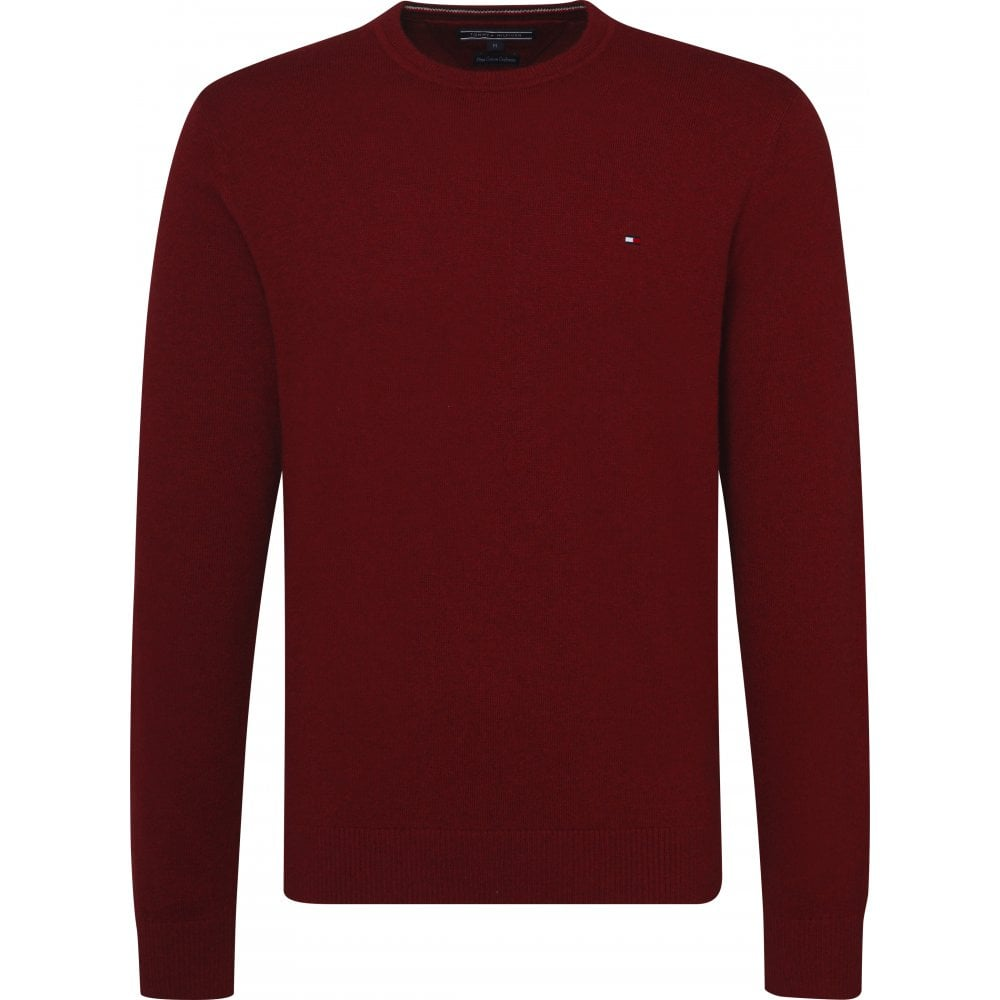 TOMMY HILFIGER Pima Cotton Cashmere Jumper Rhubarb - Mens from ... c5056e51f