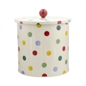 Polka Dot orignal Biscuit Barrel