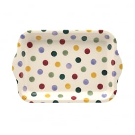 Polka Dot Small Melamine Tray