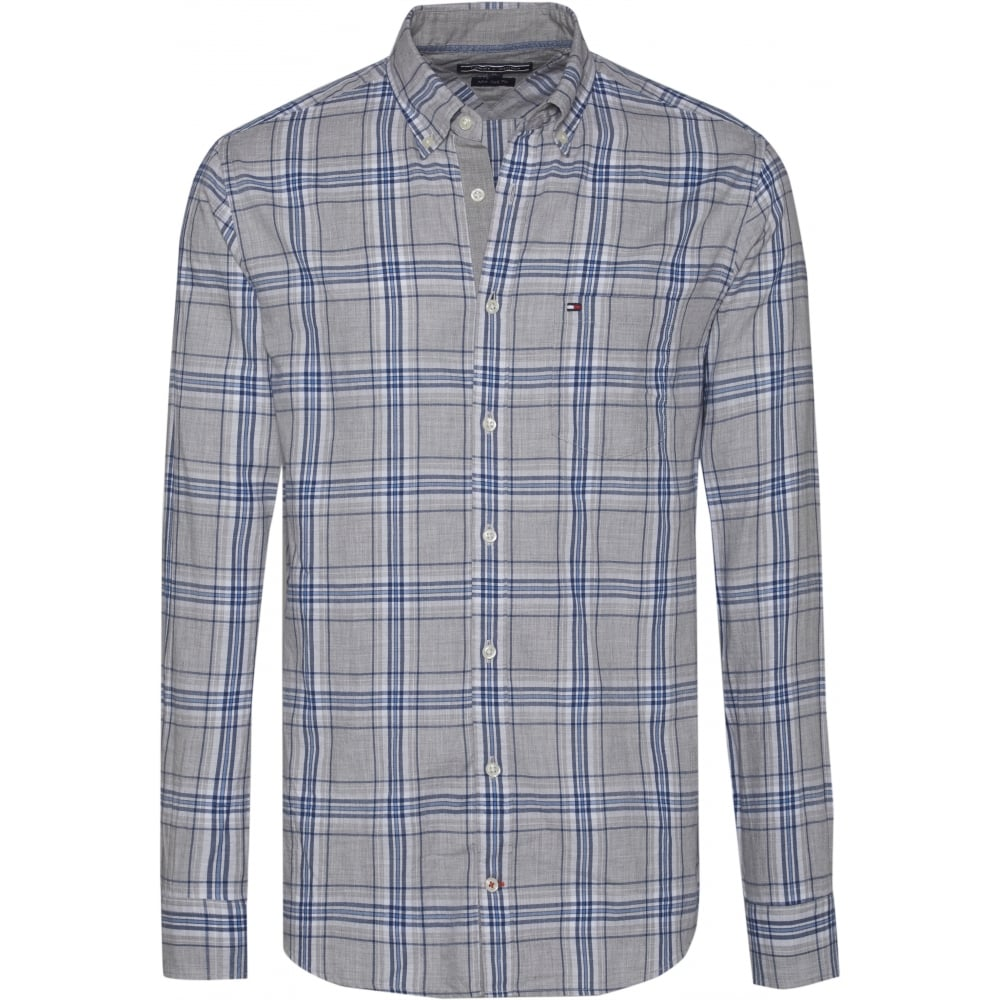 6b37dda2be9f TOMMY HILFIGER REZA CHECK SHIRT - Mens from Sandersons Boutique UK