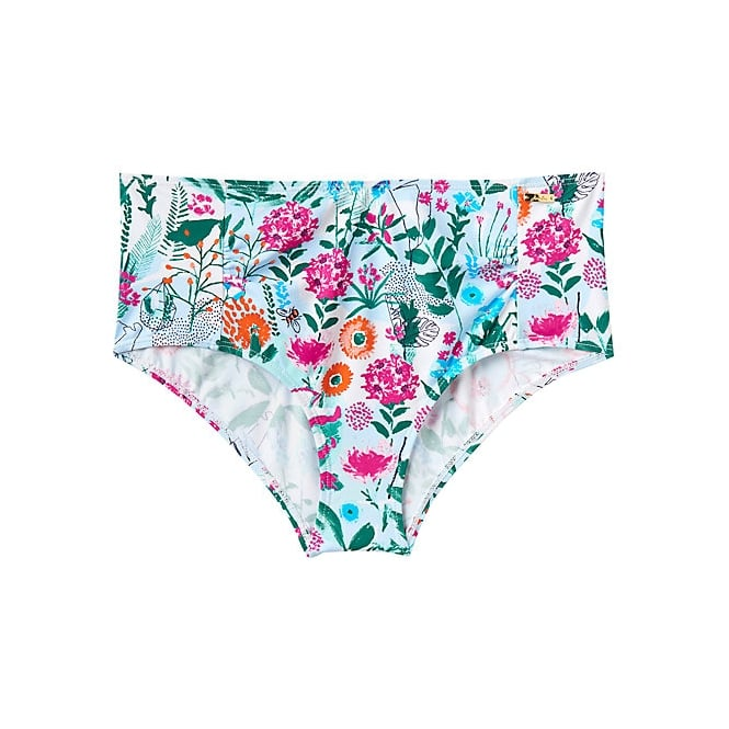 JOULES RIMINI tankini shorts pale green secret garden