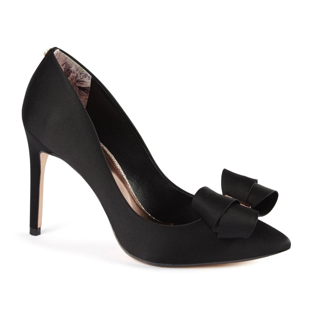 TED BAKER SKALETT black court shoes