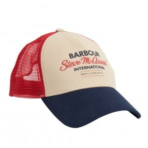 2b937900377 BARBOUR Seaton Pom Beanie Hat Navy - Mens from Sandersons Boutique UK