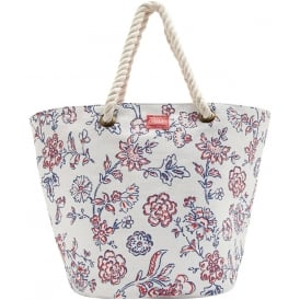 SUMMERBAG beach bag blue indienne floral