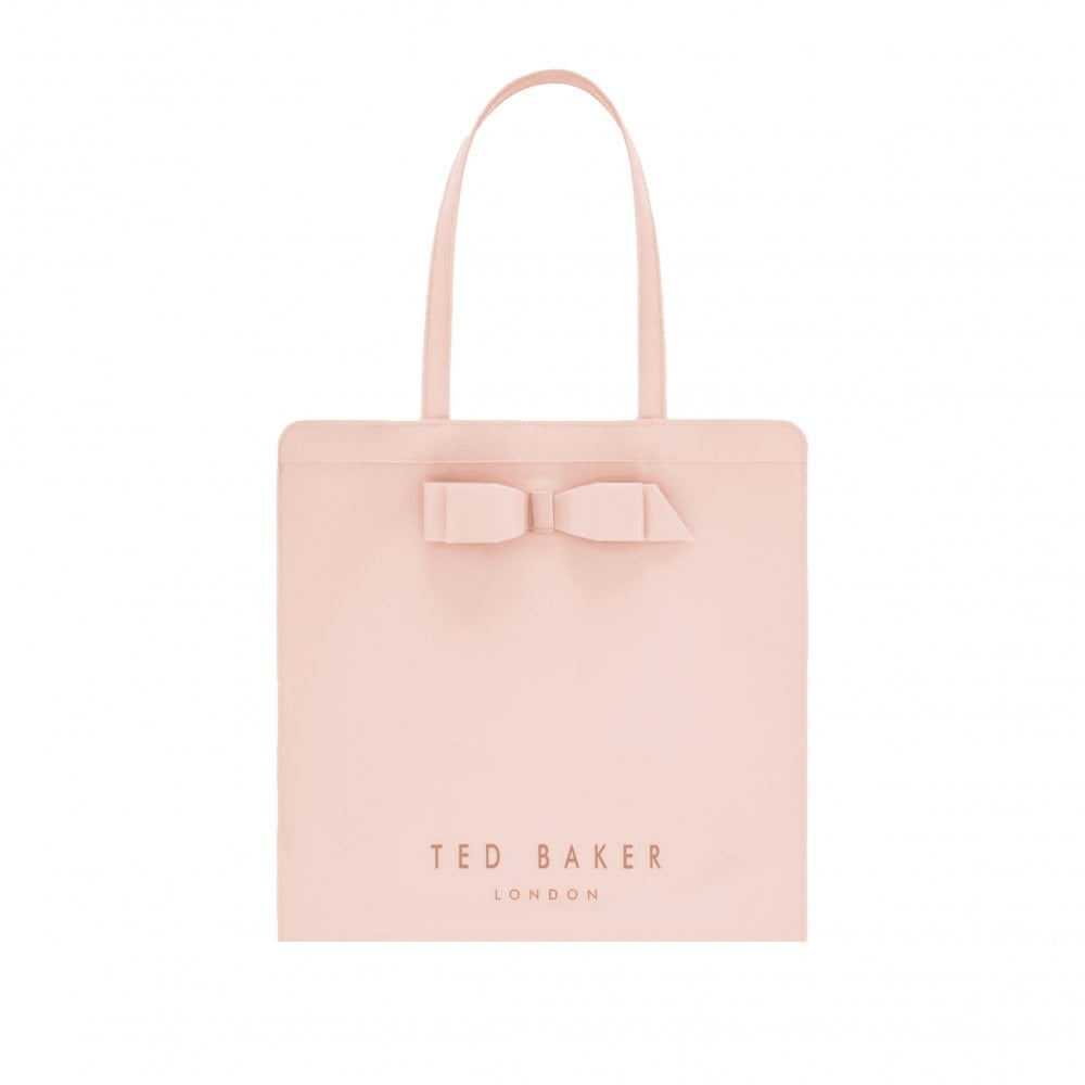 dc81b24c8dc Ted Baker ALMACON Bow Detail Large Icon Bag Pink