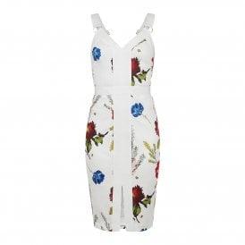 20350b240 Ted Baker AMYLIA Berry Sundae Bodycon Dress White