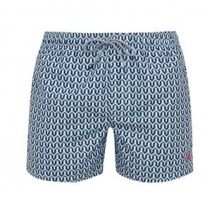 21d4d1b386 TED BAKER CAVEN-Rectangle geo swim shorts - Mens from Sandersons ...