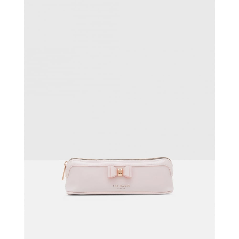 finest selection c208c d1938 TED BAKER JASS bow triangle pencil case