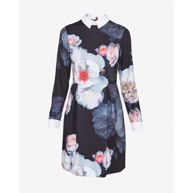 TED BAKER KALEESA chelsea flower collared dress