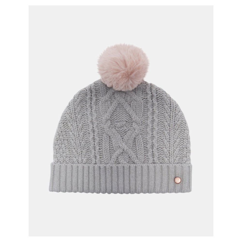 82b6e4d59c1c2 TED BAKER KYLIEE cable knit bobble hat - Ladies from Sandersons ...