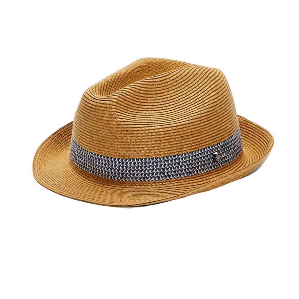 e4f0d173cdb4a Ted Baker LEMONY Straw Trilby Hat Cream