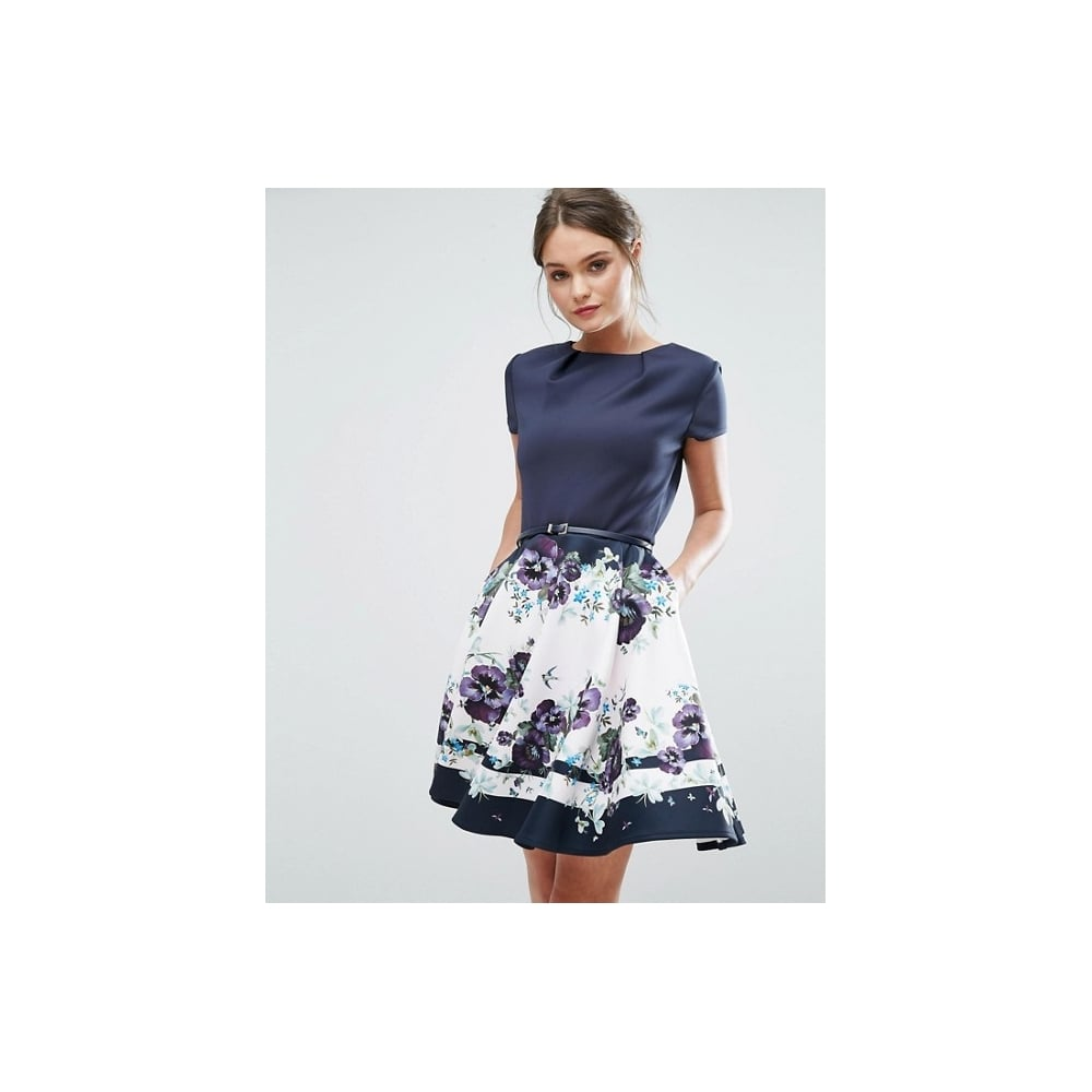 74df99a92c2 TED BAKER STEFH Enchantment skater dress - Ladies from Sandersons ...