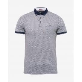 57f142e23337 ENDERS short sleeve all over print polo t-shirt · TED BAKER ...