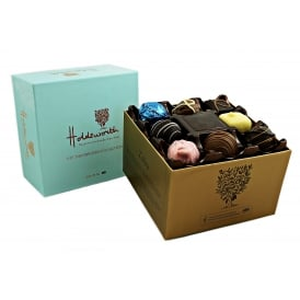 THE OBROMA COLLECTION ASSORTED HANDMADE CHOCOLATES (BLUE BOX)