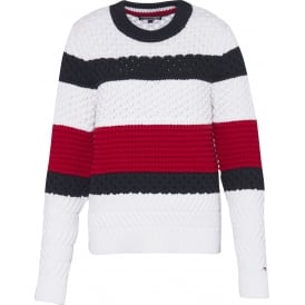 ALEXIA block sweater jumper