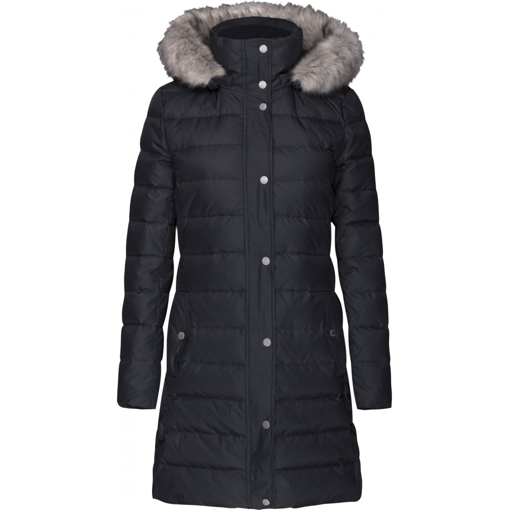 tommy hilfiger tyra down coat ladies from sandersons boutique uk. Black Bedroom Furniture Sets. Home Design Ideas