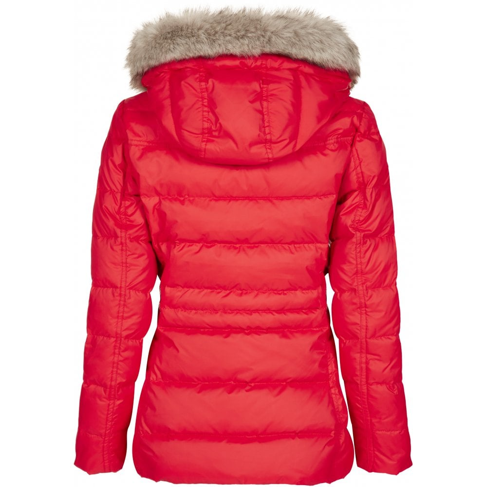 8472fbe0f TOMMY HILFIGER Tyra Down Jacket Red