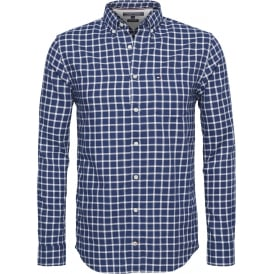 HAMPTON CHECK OXFORD SHIRT