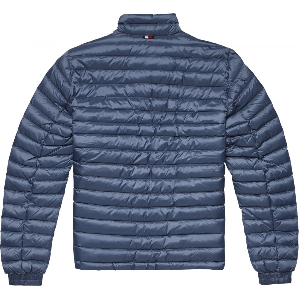 b7f3ba5c7f79f TOMMY HILFIGER PACKABLE DOWN BOMBER JACKET - Mens from Sandersons ...