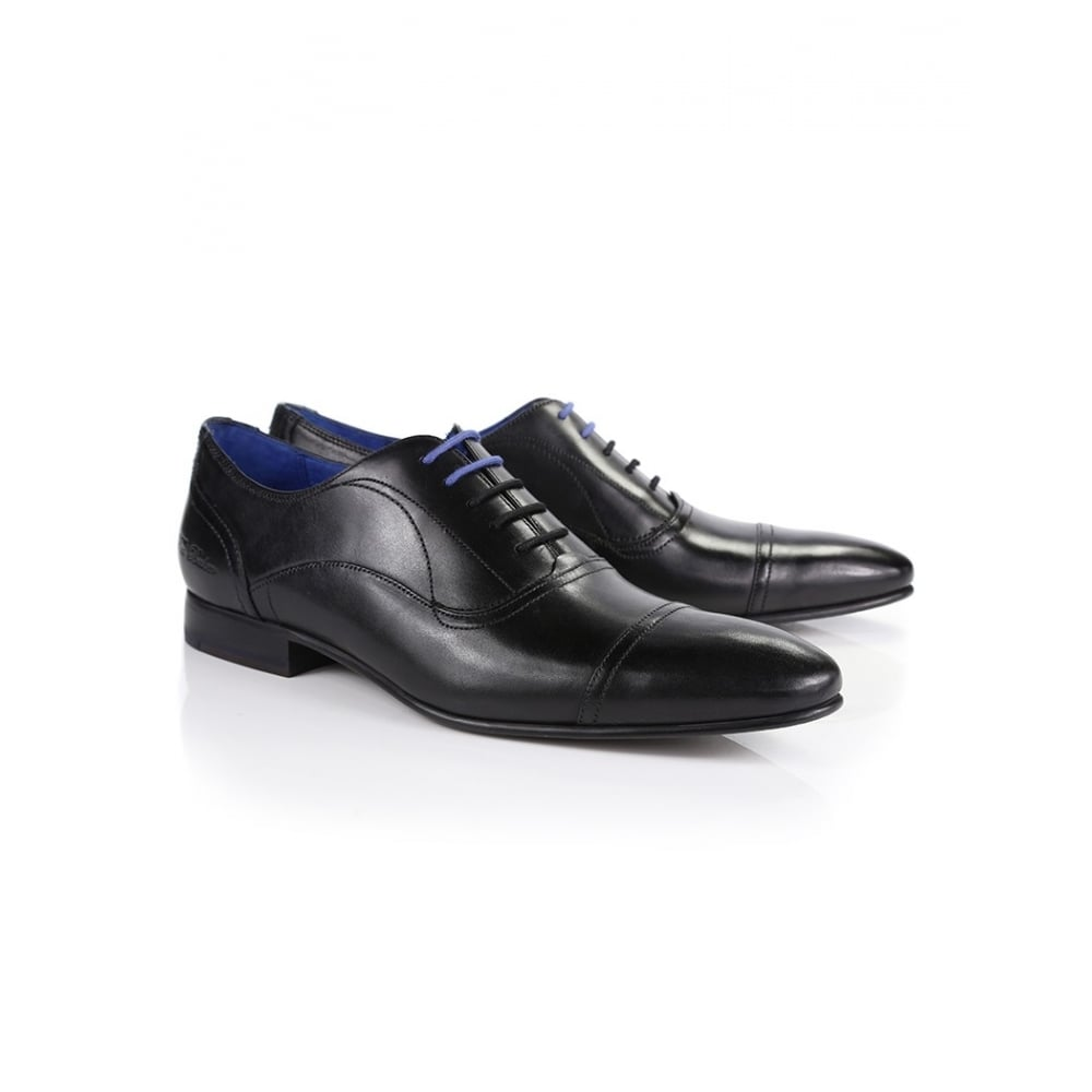 TED BAKER UMBBER TOE CAP LACE UP