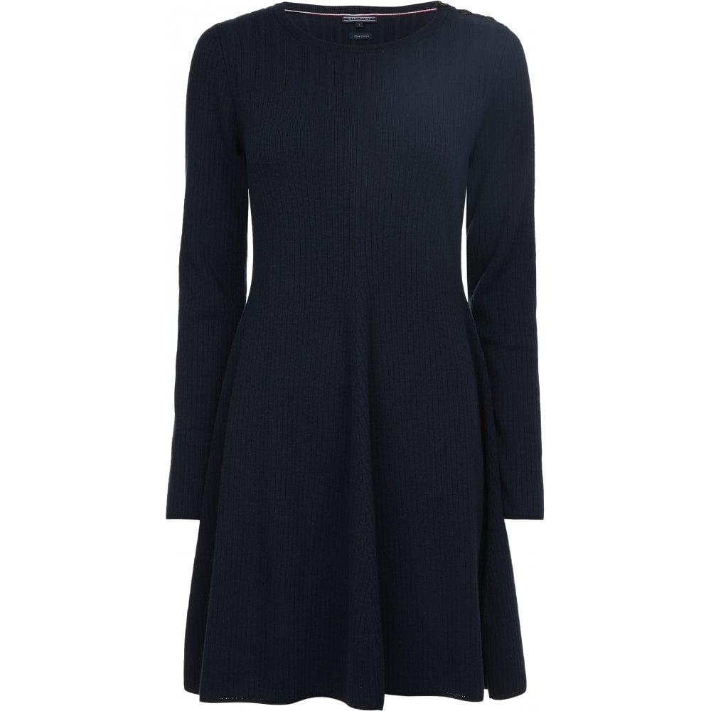 e2b6e4422 TOMMY HILFIGER VARINKA C-NK DRESS - Ladies from Sandersons Boutique UK