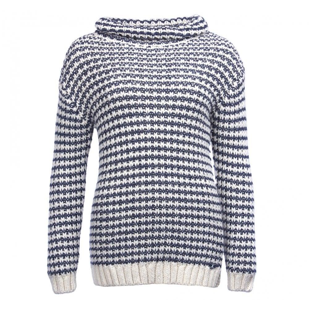 d33562dbd264 BARBOUR Ventnor Knit Jumper Navy - Ladies from Sandersons Boutique UK