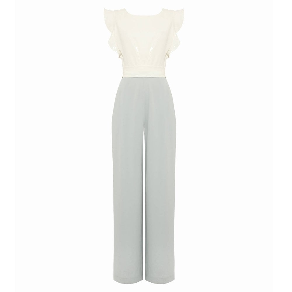 a209defdd79 PHASE EIGHT Victoriana Jumpsuit Ivory  Duck Egg - Ladies from ...