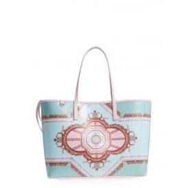 VOLETTA versailles canvas shopper bag