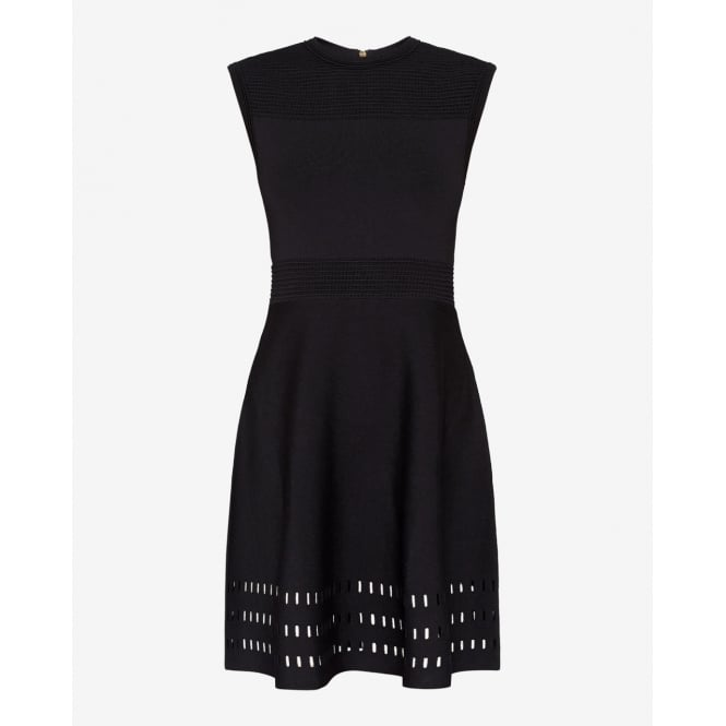 TED BAKER WMD-AURBRAY-WA7W-knitted skater dress / WMD-AURBRAY-WA7W-kni