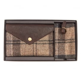 Wool Tartan Travel Set